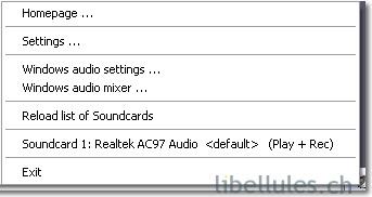 Quick Sound Switch