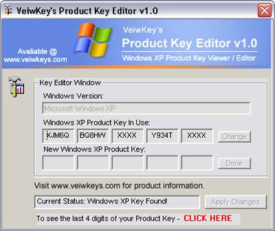 Keygen windows sp3 for Window xp key