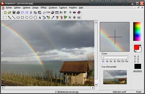 حصريا: برنامج الكتابة علي الصور Graphex3