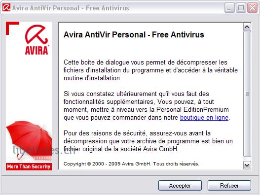 setup Antivir