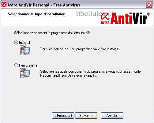 installation complète Antivir
