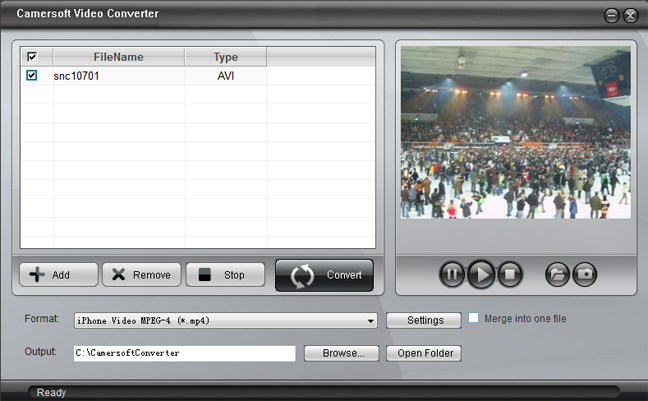 Camersoft Video Converter