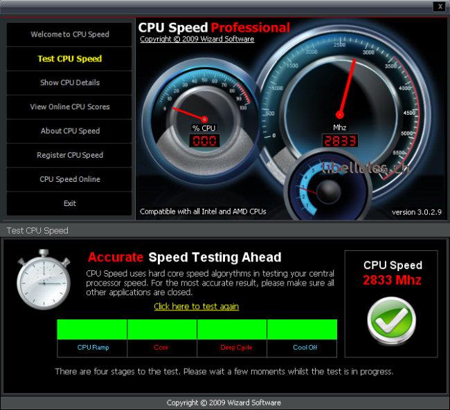 CPU Speed Professional