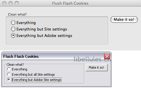 Flush Flash Cookies