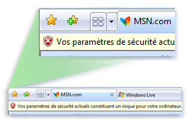 Gestion des pop ups sous internet explorer 8 pour windows for Blocage fenetre publicitaire