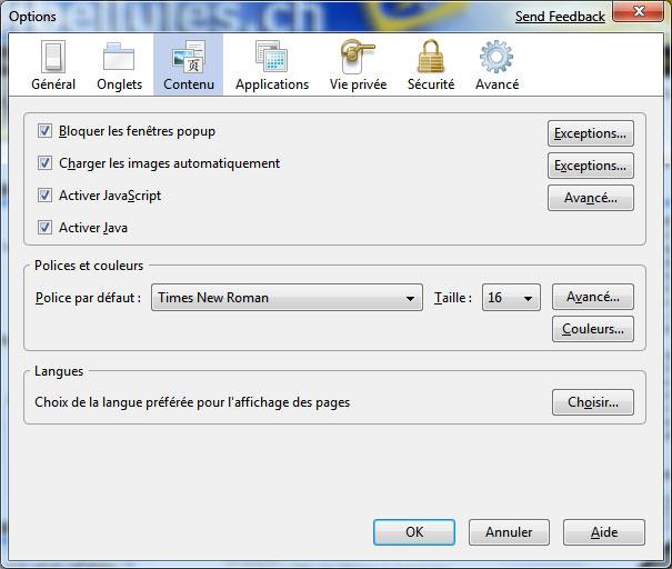 Activer ou d sactiver javascript dans votre navigateur for Ouvrir fenetre javascript