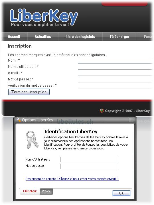liberkeyident Liberkey : une compilation de logiciel gratuits dans votre poche
