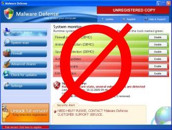 éliminer malware defense