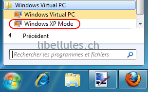 windows xp mode virtual pc