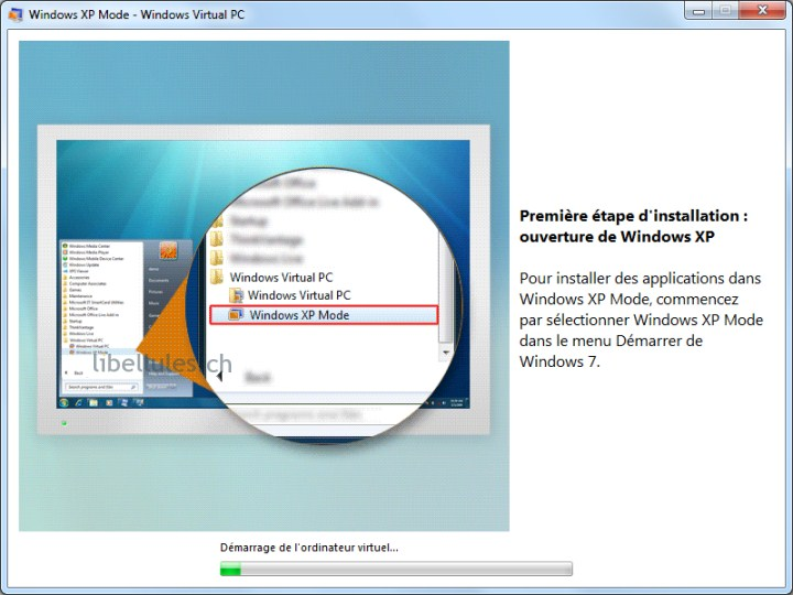 windows 7 int�gral mode xp
