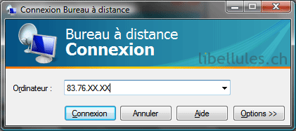 Connexion bureau distance sous xp depuis vista portail - Connexion bureau a distance windows xp ...