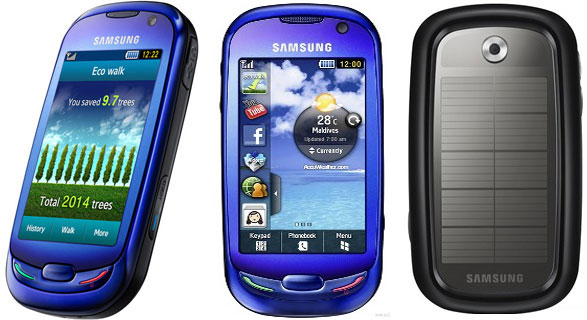 Samsung Blue Earth GT-S7550
