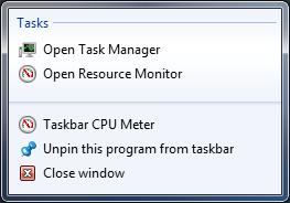 Taskbar Meters