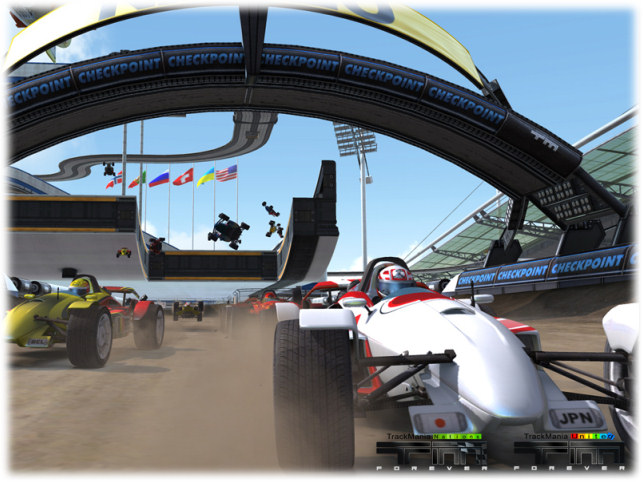 ТрекМания United Forever / TrackMania United Forever v.2.11.25 (2008/RUS/Re