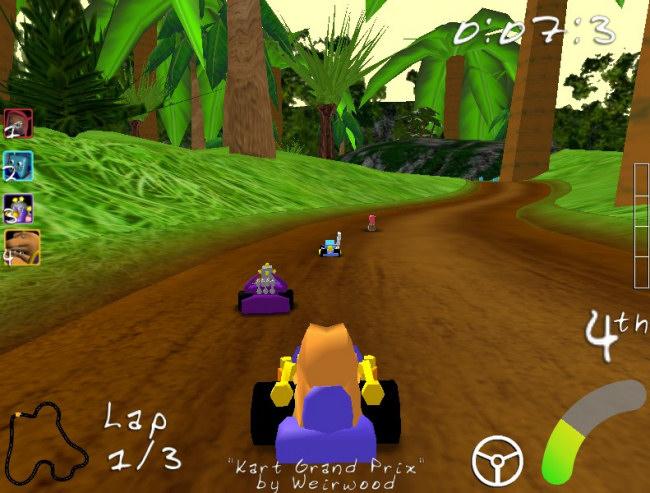 course kart