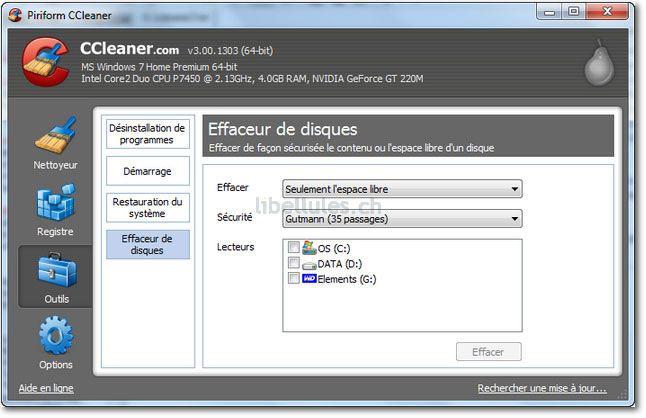 CCleaner en version 3
