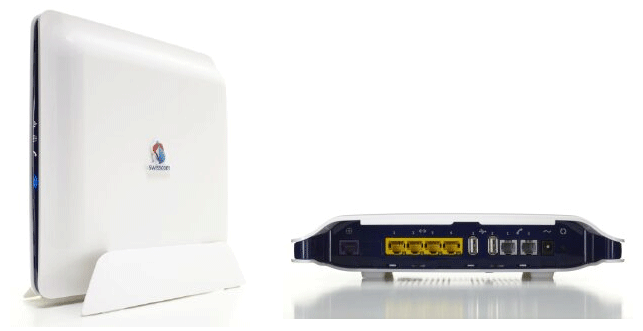 Swisscom lance avec Centro grande une nouvelle génération de routeurs