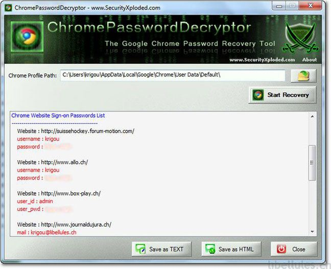 ChromePasswordDecryptor