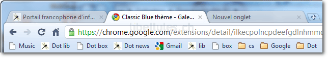 Classic Blue Theme