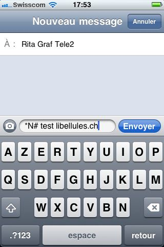 comment avoir accuse de reception sur iphone