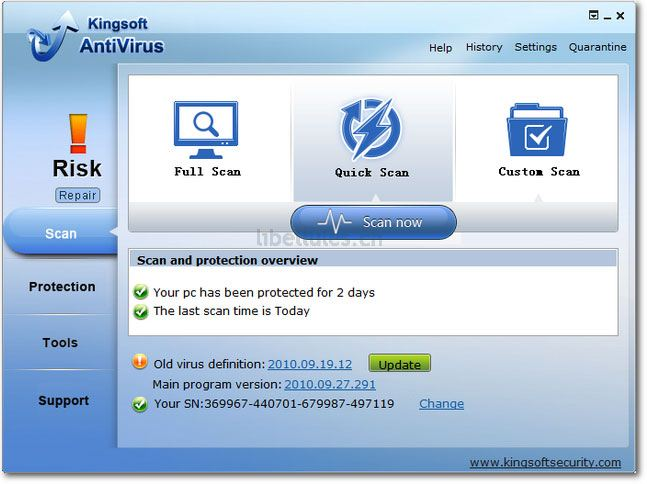 Kingsoft Free Cloud Antivirus