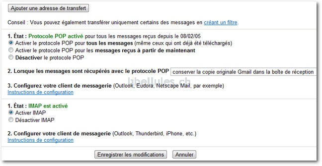 Ajouter un compte Gmail dans Outlook 2010