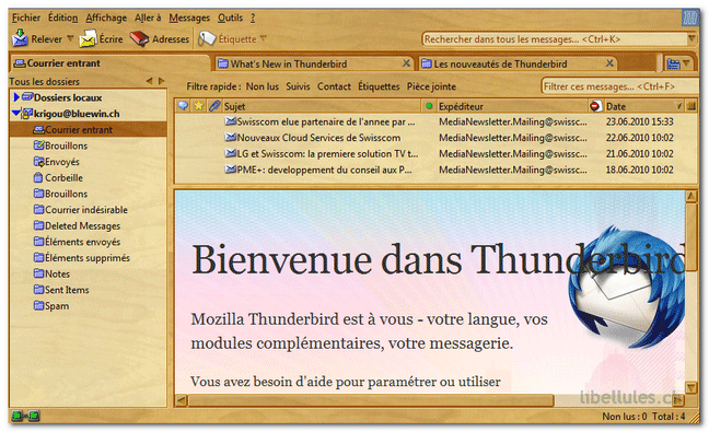 Walnut2 pour Thunderbird