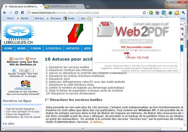 Web2PDFConverter