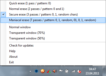 File Wiper