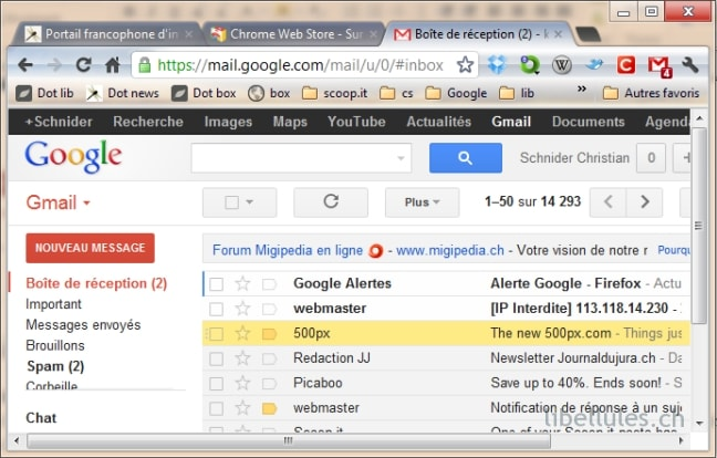 Row Highlighter for Gmail