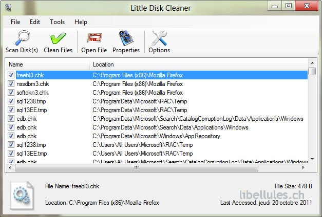 Little Disk Cleaner