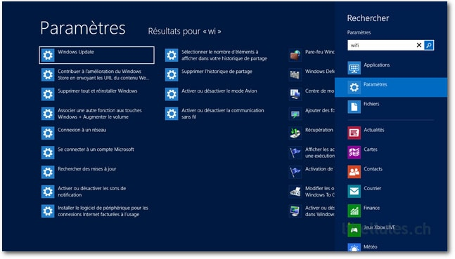 Exemple de win win for Fenetre windows 8