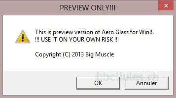 Aero Glass pour Windows 8