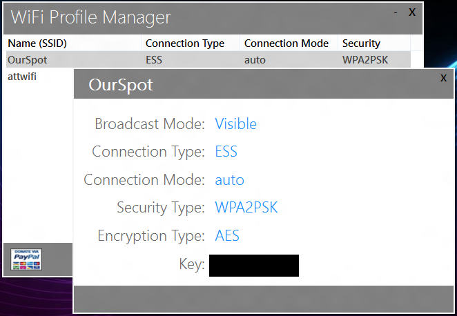 WiFi Profile Manager 8