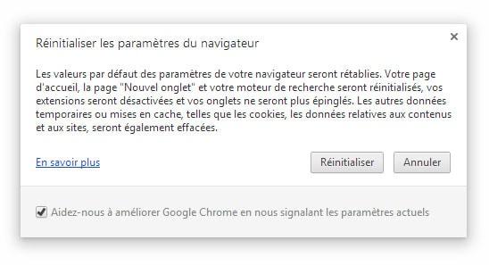 Chrome Version 29 dans les bacs