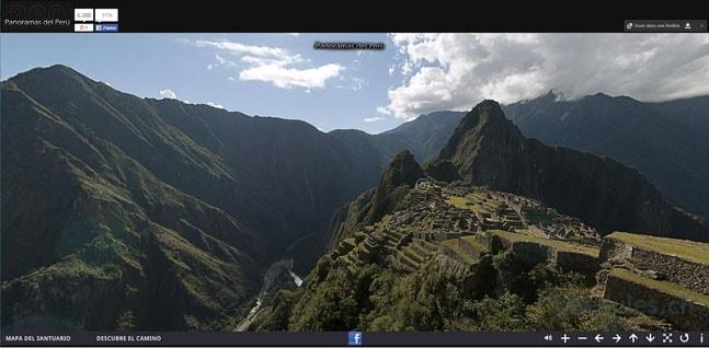 Panorama du Machu Picchu