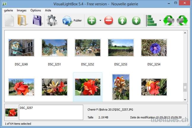 VisualLightBox Free Version