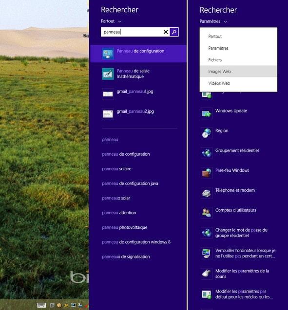 Windows 8.1 - La fonction recherche simplifiée