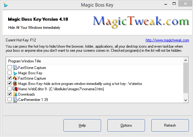 Magic Boss Key