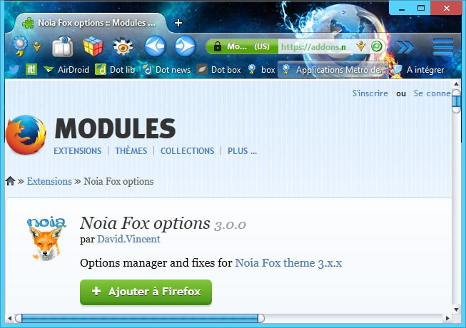 Noia Fox options