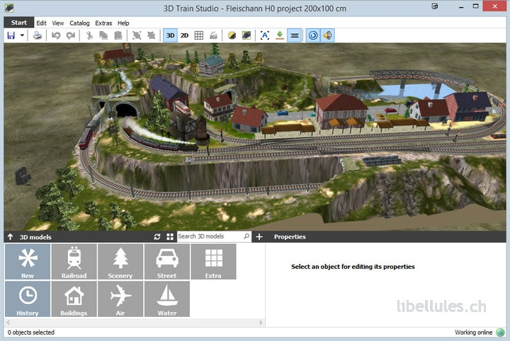 3D Train Studio