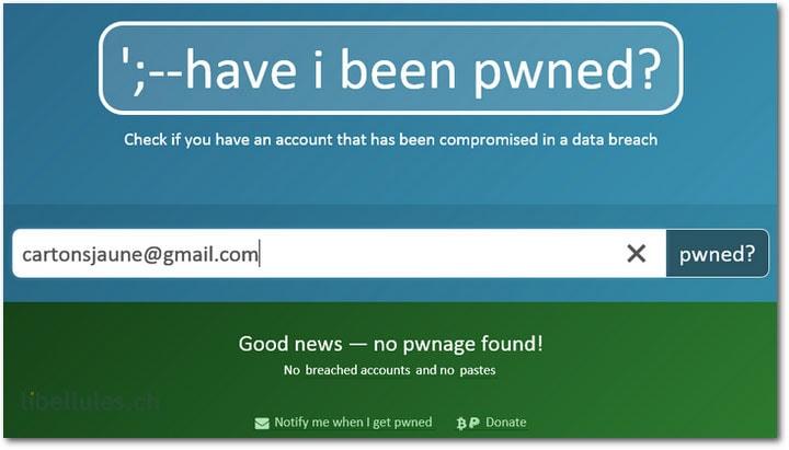 ';--have i been pwned? - Vérifiez si votre adresse e-mail a été piratée