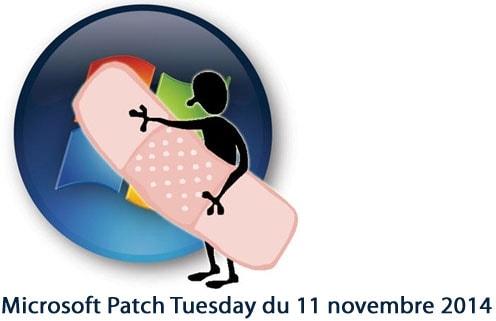 Microsoft Patch Tuesday du 11 novembre 2014 - pas moins de 16 mises à jour