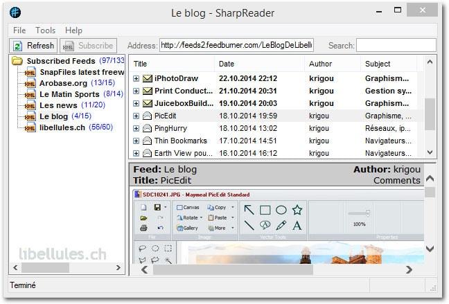 SharpReader
