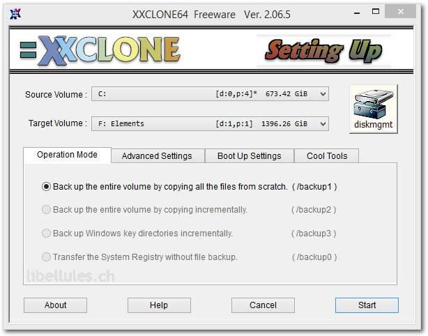 XXClone - clonage disque