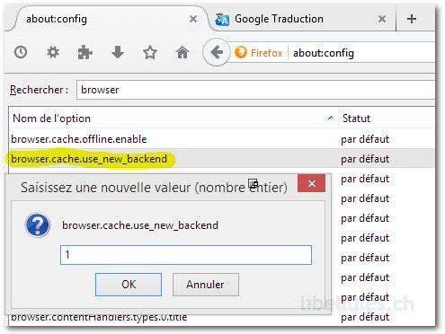 Donnez un coup de jeune à Firefox - un nouveau cache pour Firefox