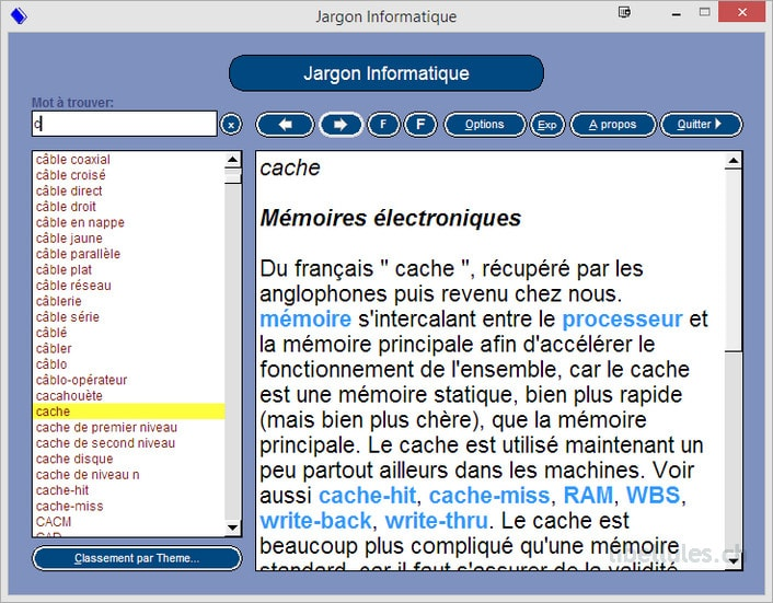 dictionnaire jargon informatique