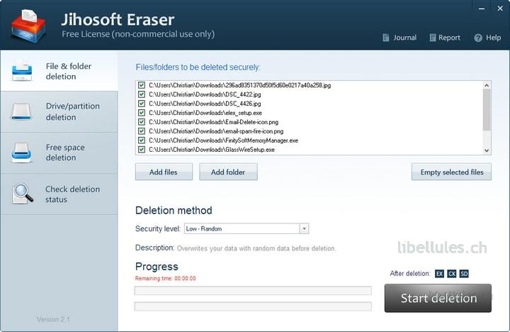 Jihosoft Eraser