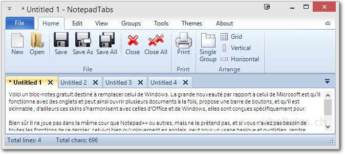 NotePadTabs