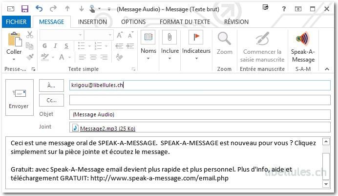 Speak-A-Message